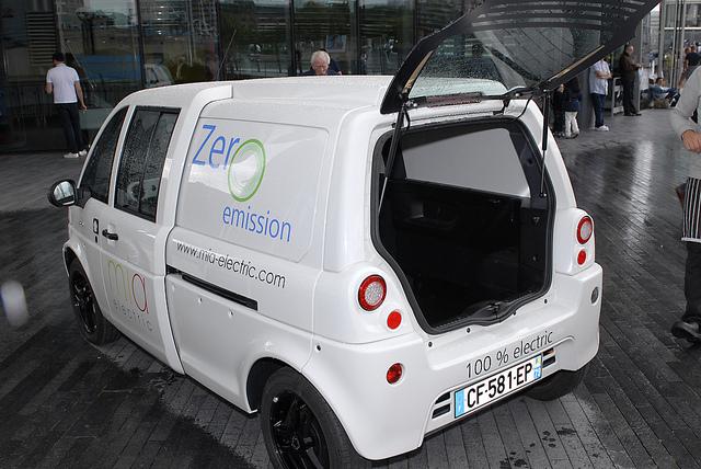 Image of Zero Emissions Van