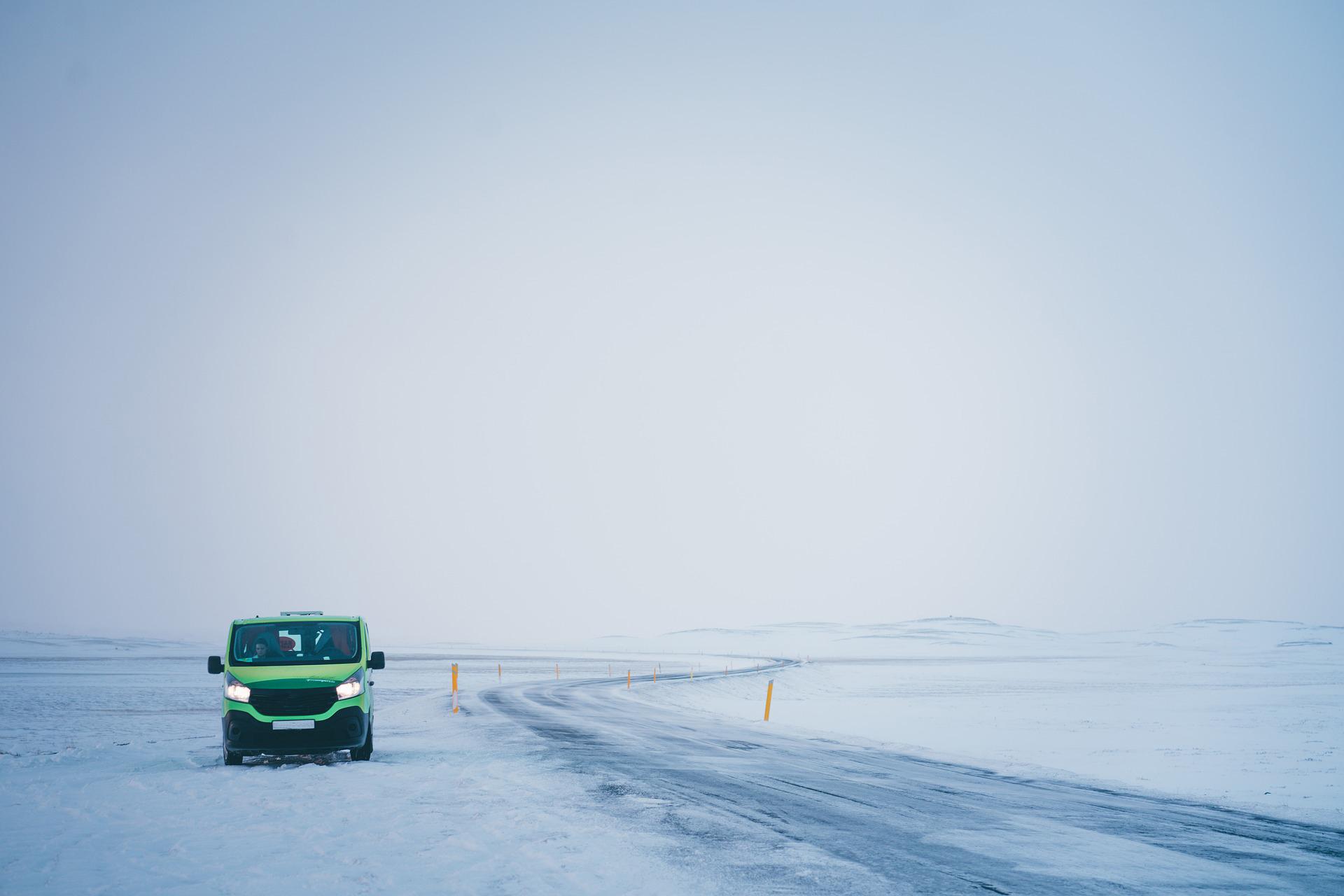 van winter ready