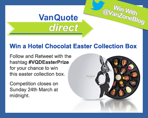 VanQuoteDirect Easter Twitter Competition