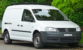 Image of white van